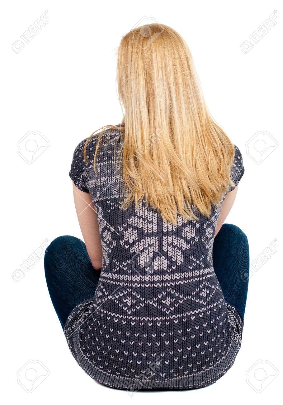 Фото девушки блондинки вид сзади 17 фотография