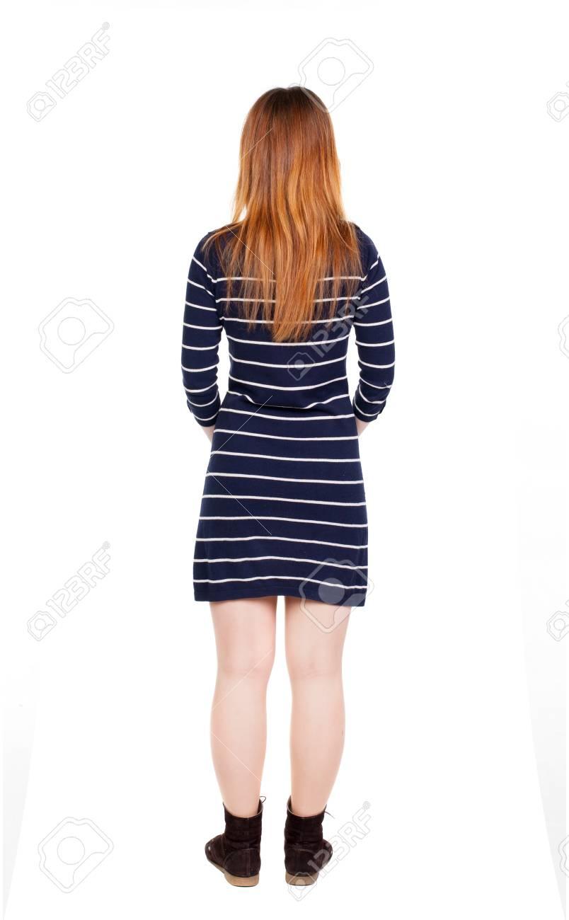 Красивые картинки девушек вид сзади #8