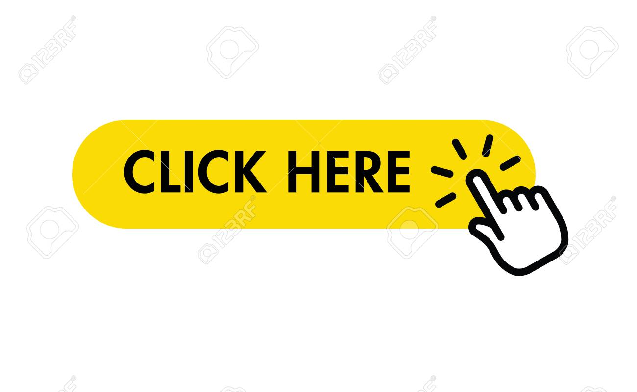 Click here button with hand pointer clicking - 122848864