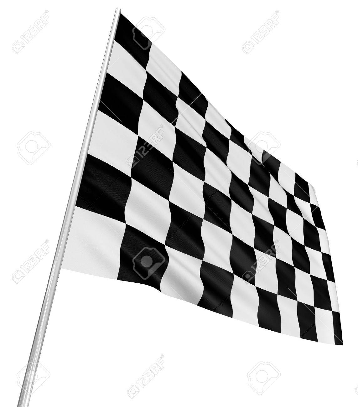 Checkered Flag Stock Photo - 13401719