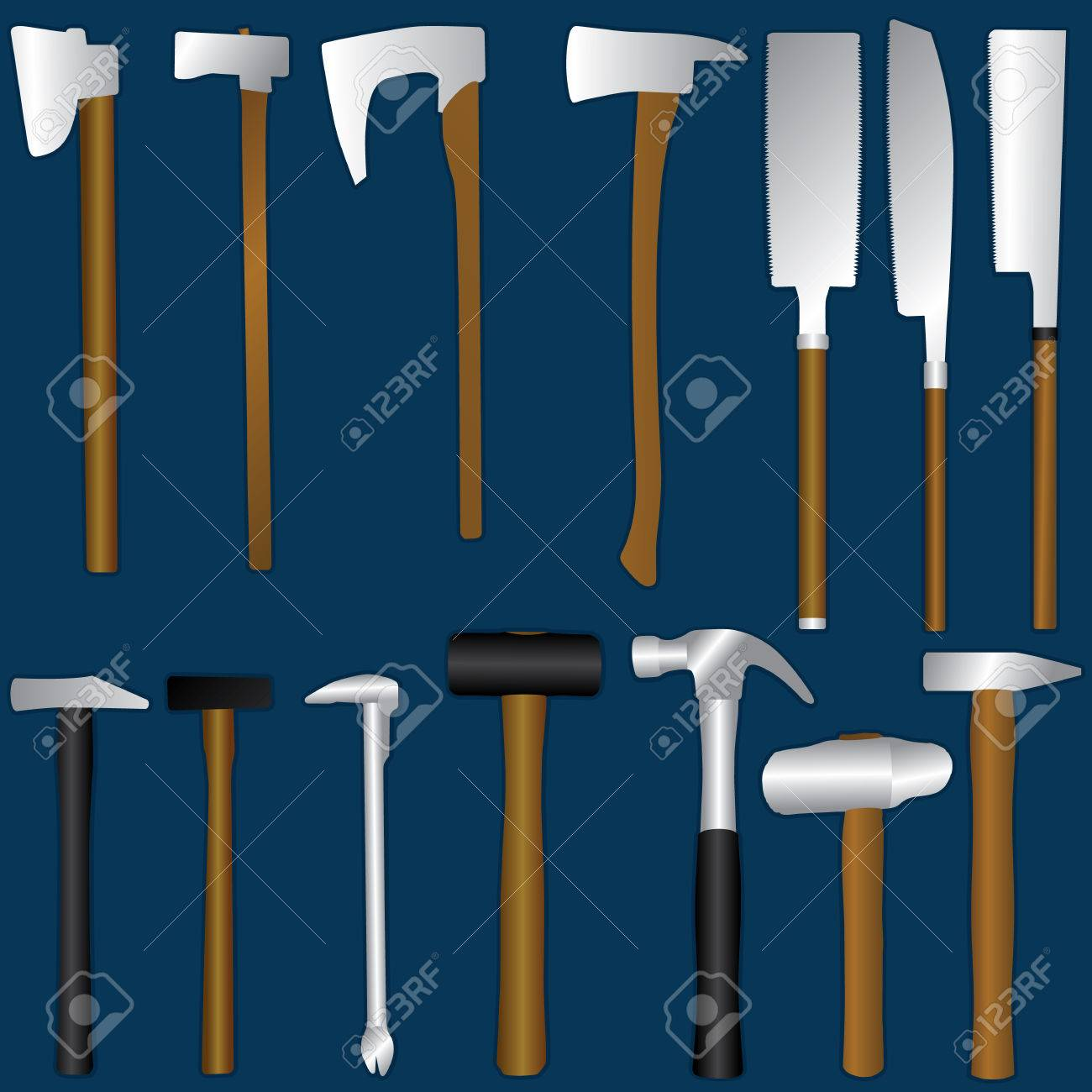 types of axes