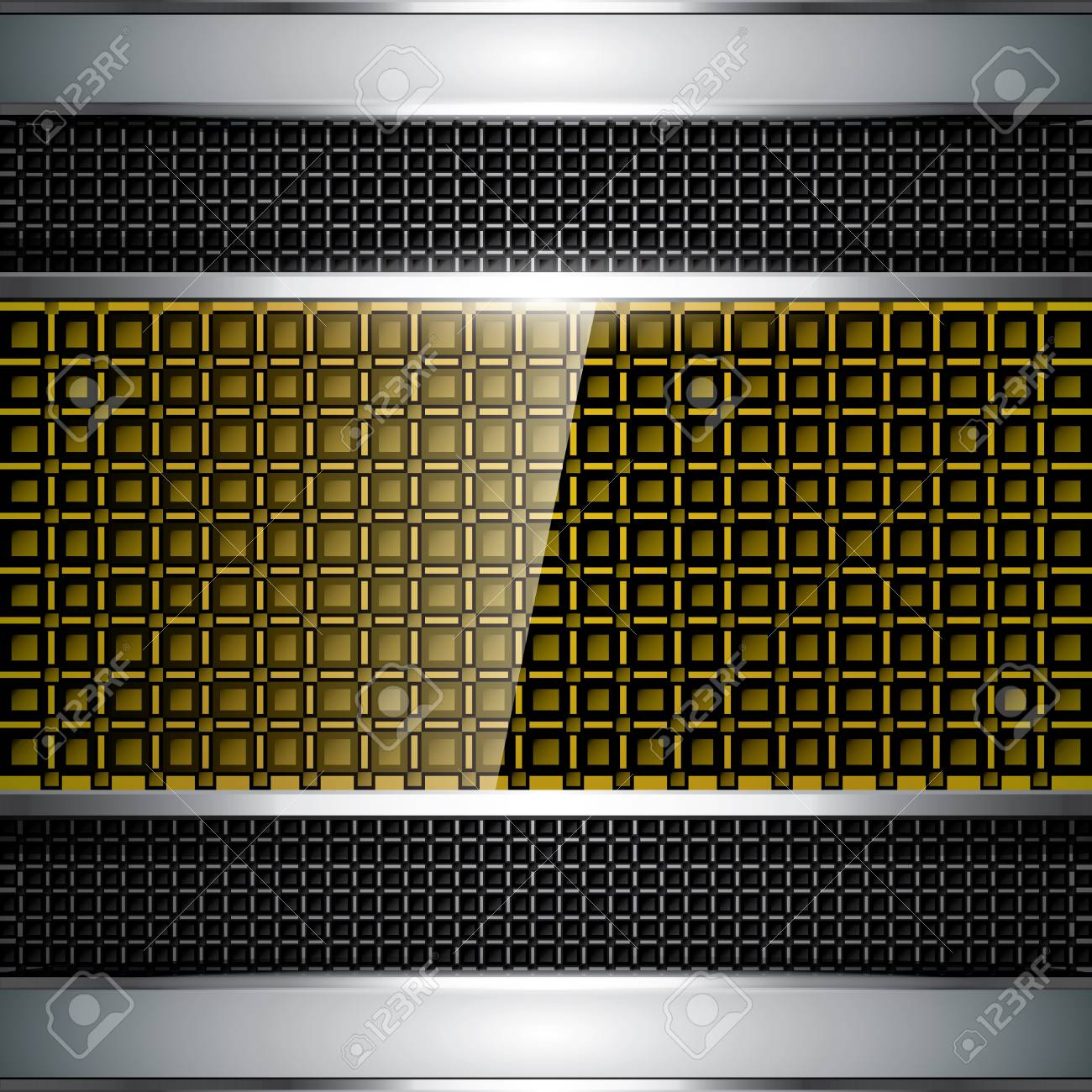 Abstract golden background - vector illustration Stock Vector - 11479001