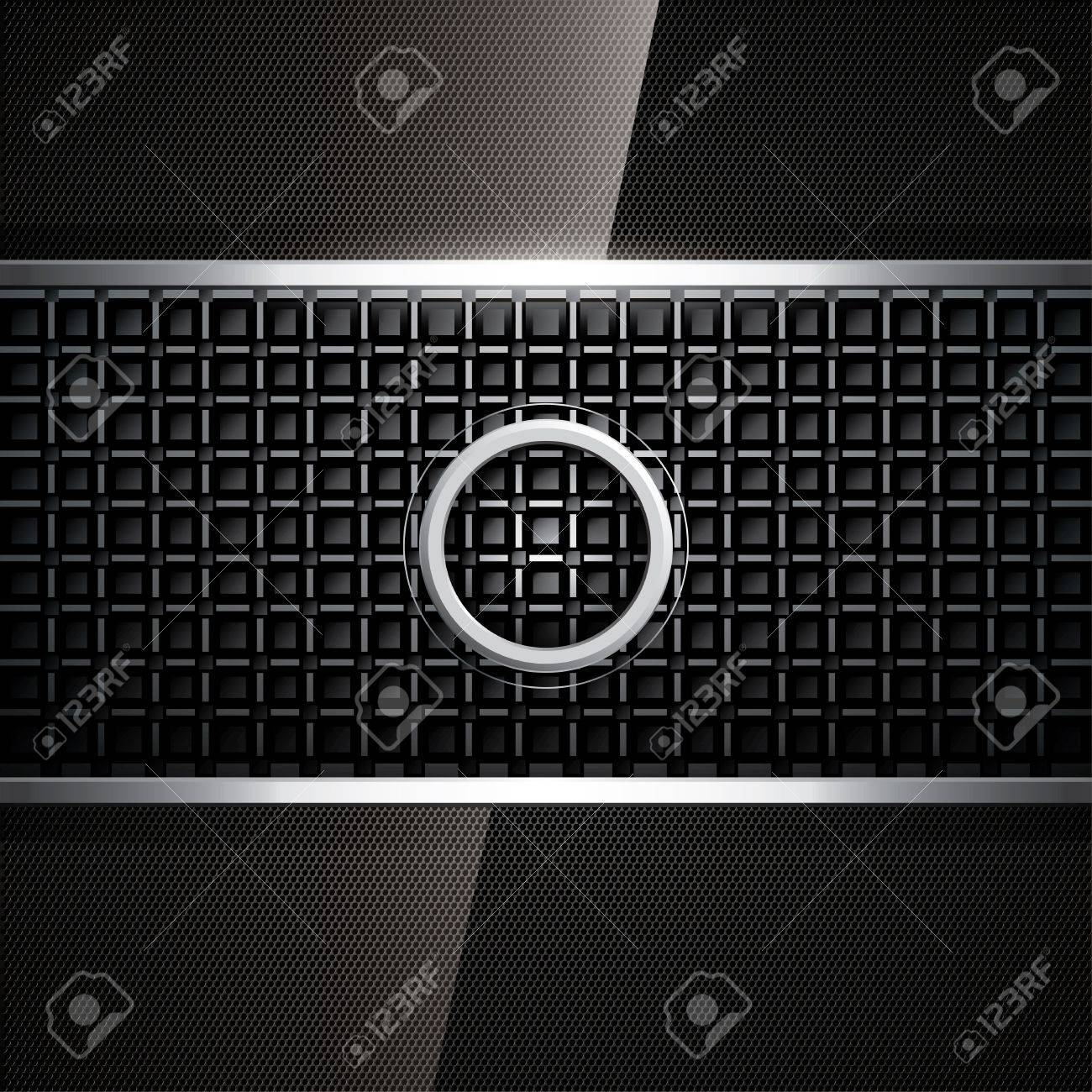 Abstract background, metallic frame Stock Vector - 13175967