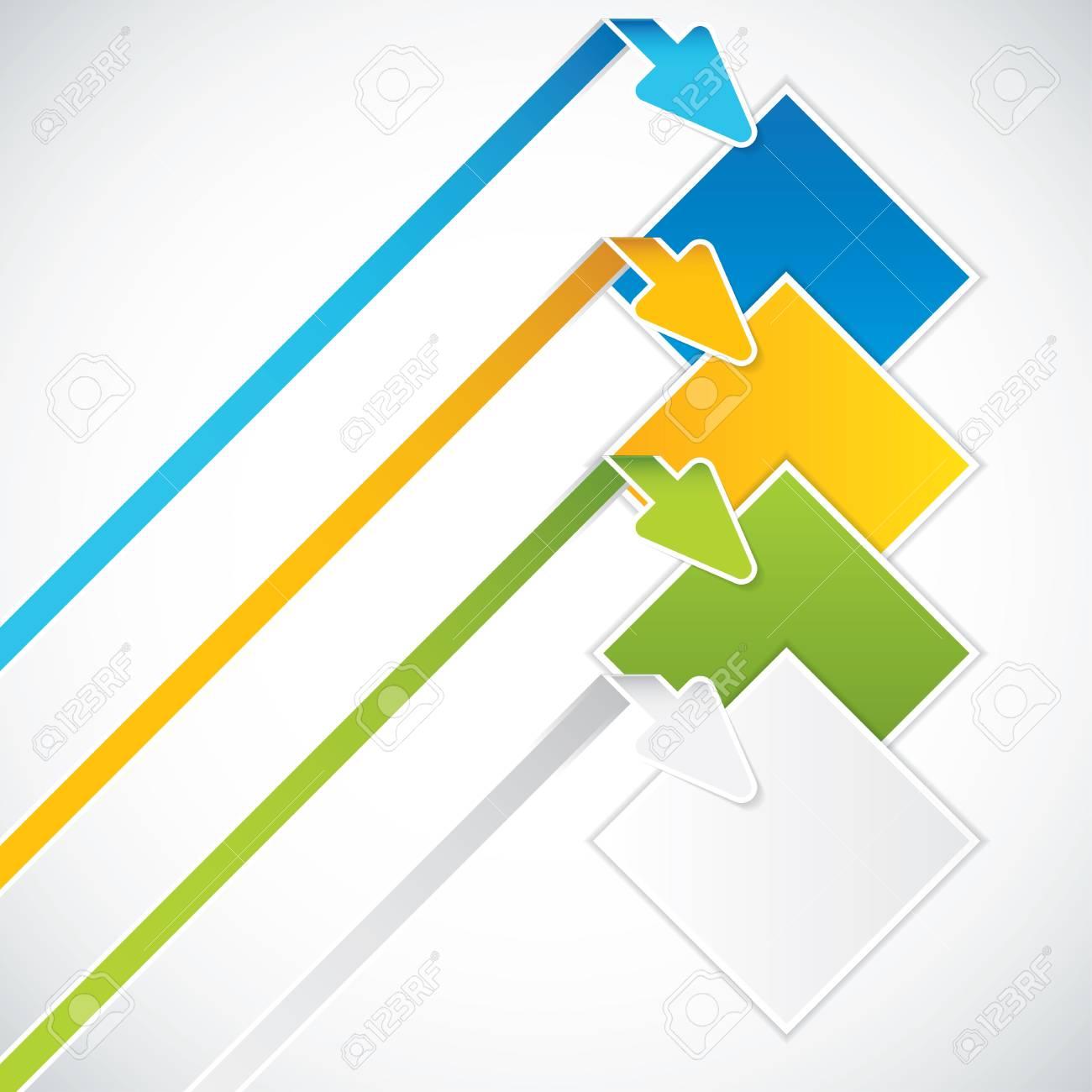 Presentation Template Business vector Stock Vector - 16195943