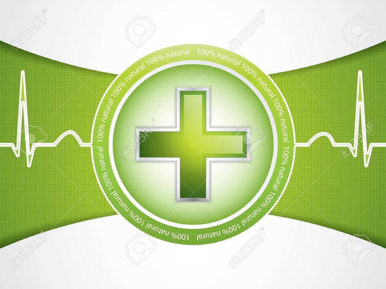 Alternative medication concept - medical cross - 16521403