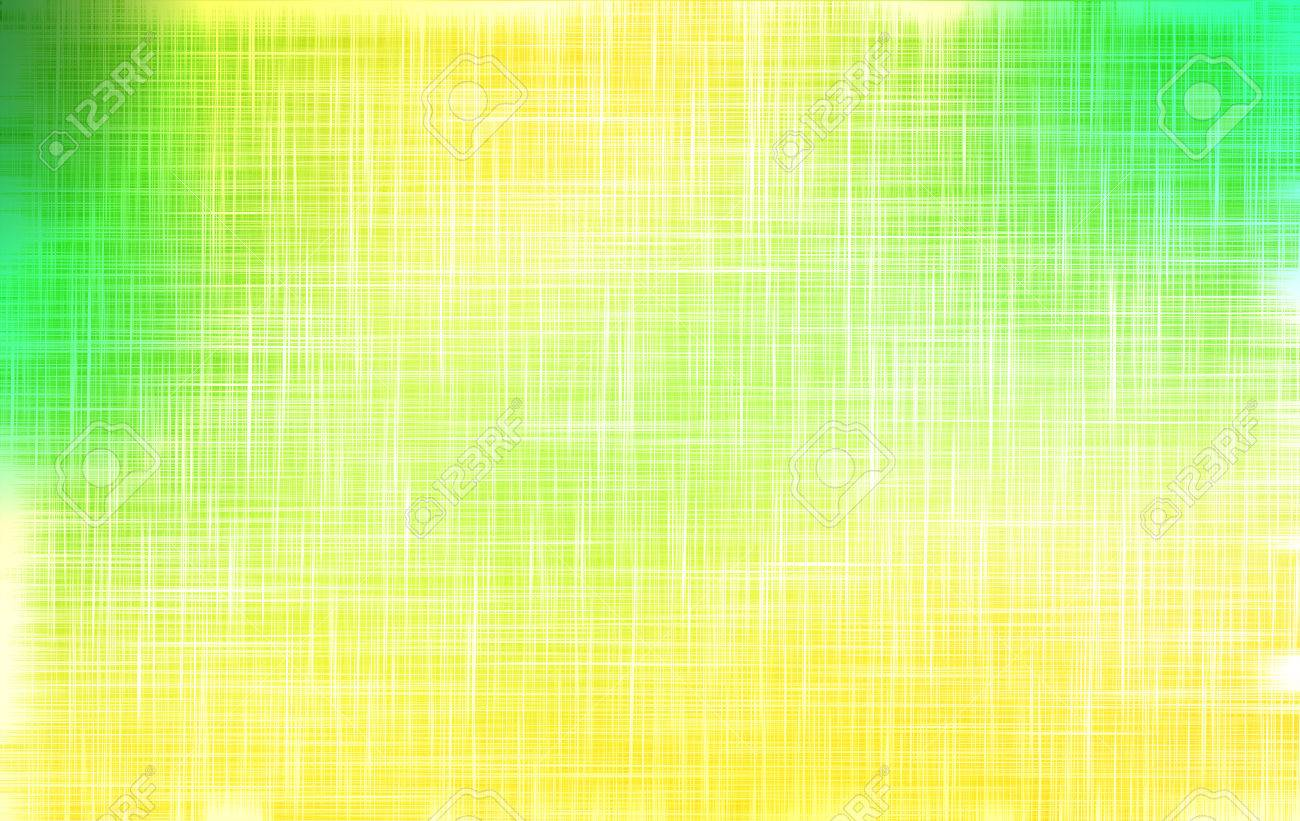 Green And Yellow Cloth Texture Background Illustration For Your Fresh Natural Design Book Cover