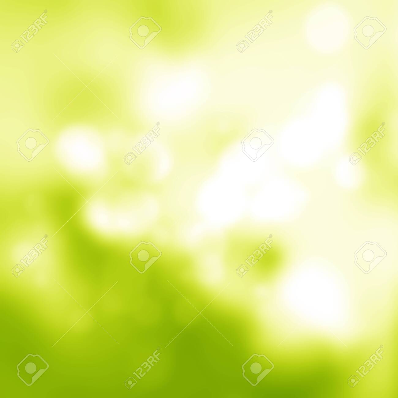 Sunny abstract green soft nature background. Fresh nature. Nature blurred light abstract background / Natural outdoors bokeh background, Blurred forest background - 133227764