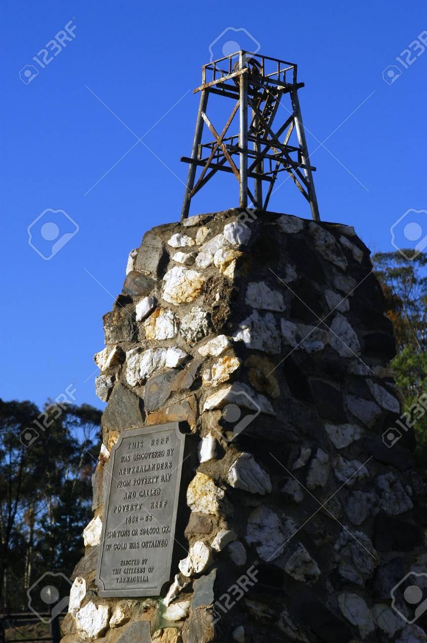 The monument of Tarnagulla Stock Photo - 17522312
