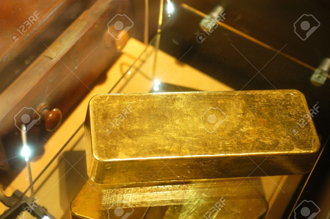 The museum of the gold of Ballarat in Australia in Victoria where all the history of the gold and marvellous gold nuggets of impressive size is. Stock Photo - 17534418
