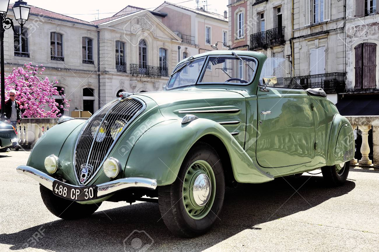 Peugeot 302 Manufactured From 1936 To 1938 Photographed The Rally Stock Photo Picture And Royalty Free Image Image 43353774