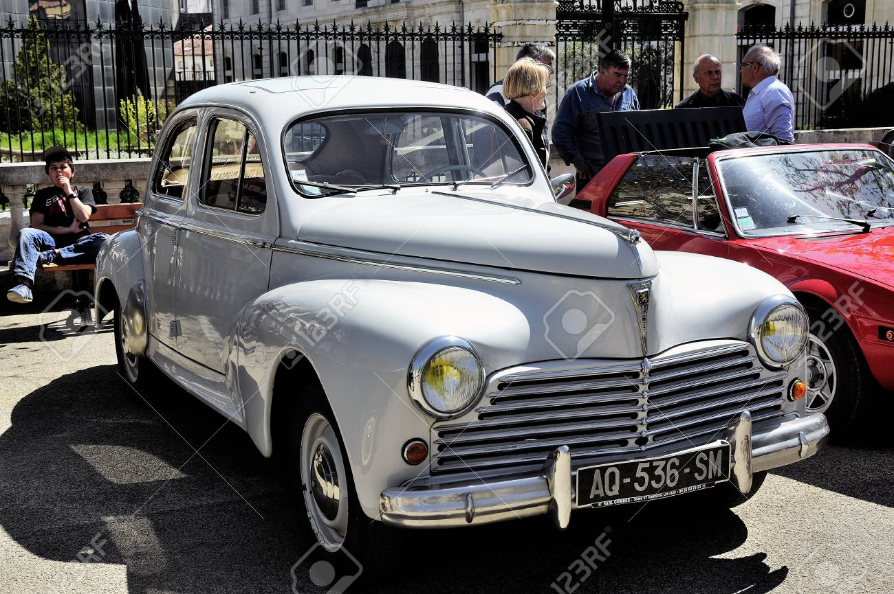 Peugeot 203 Manufactured From 1948 To 1960 Photographed The Rally Stock Photo Picture And Royalty Free Image Image 43353843
