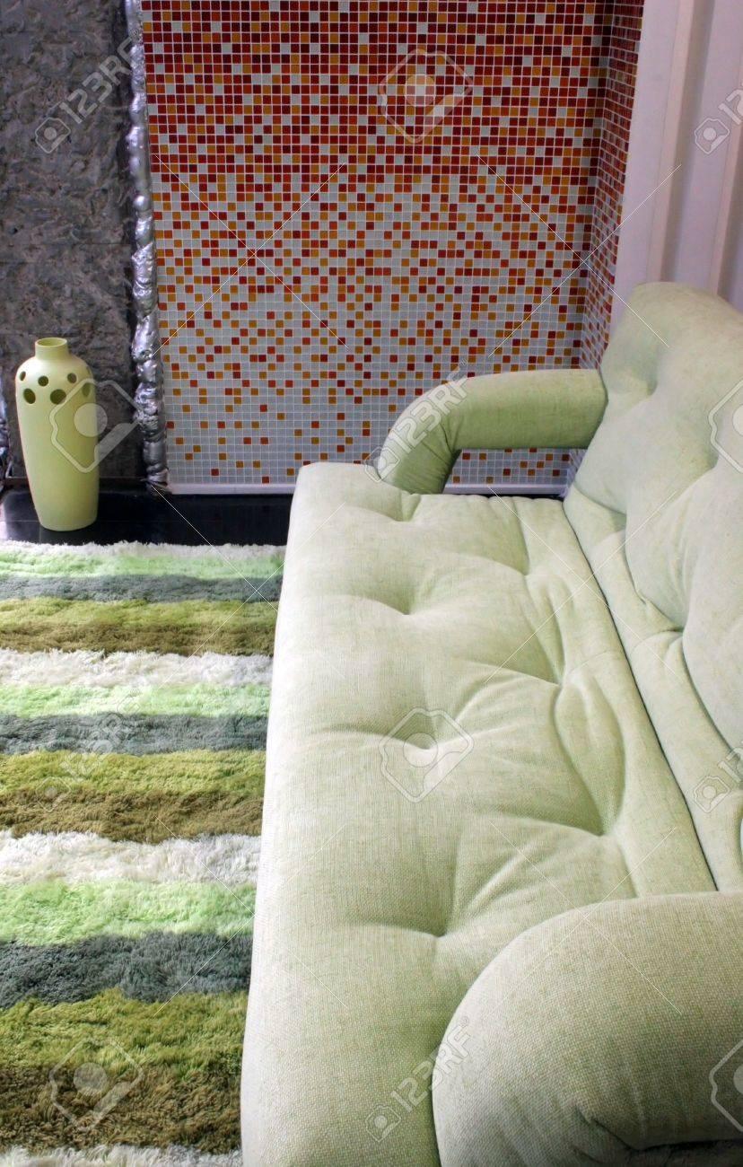 Sofa - home interiors Stock Photo - 305051