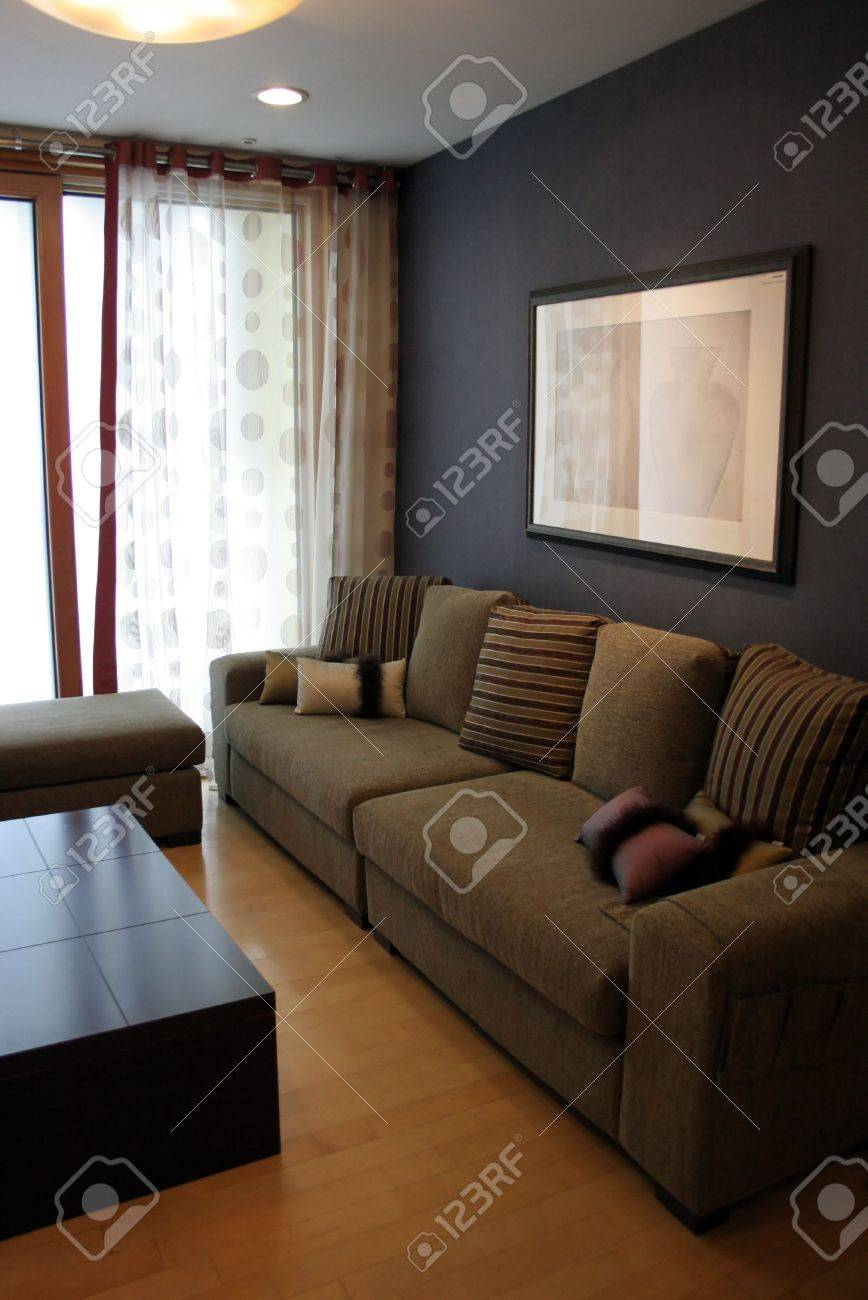Luxury living room in a modern home Stock Photo - 305034