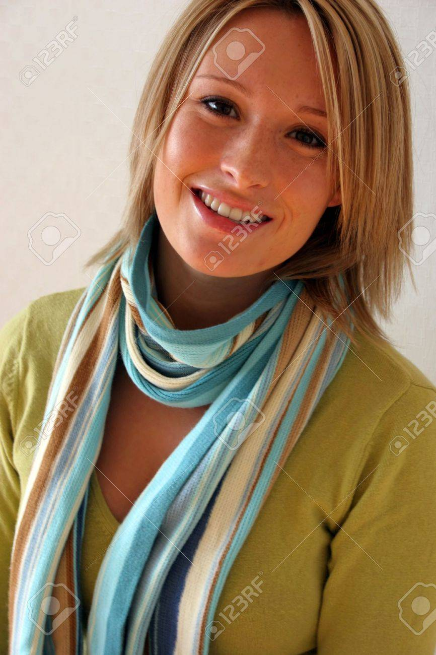 Portrait of a sexy blond model Stock Photo - 309843