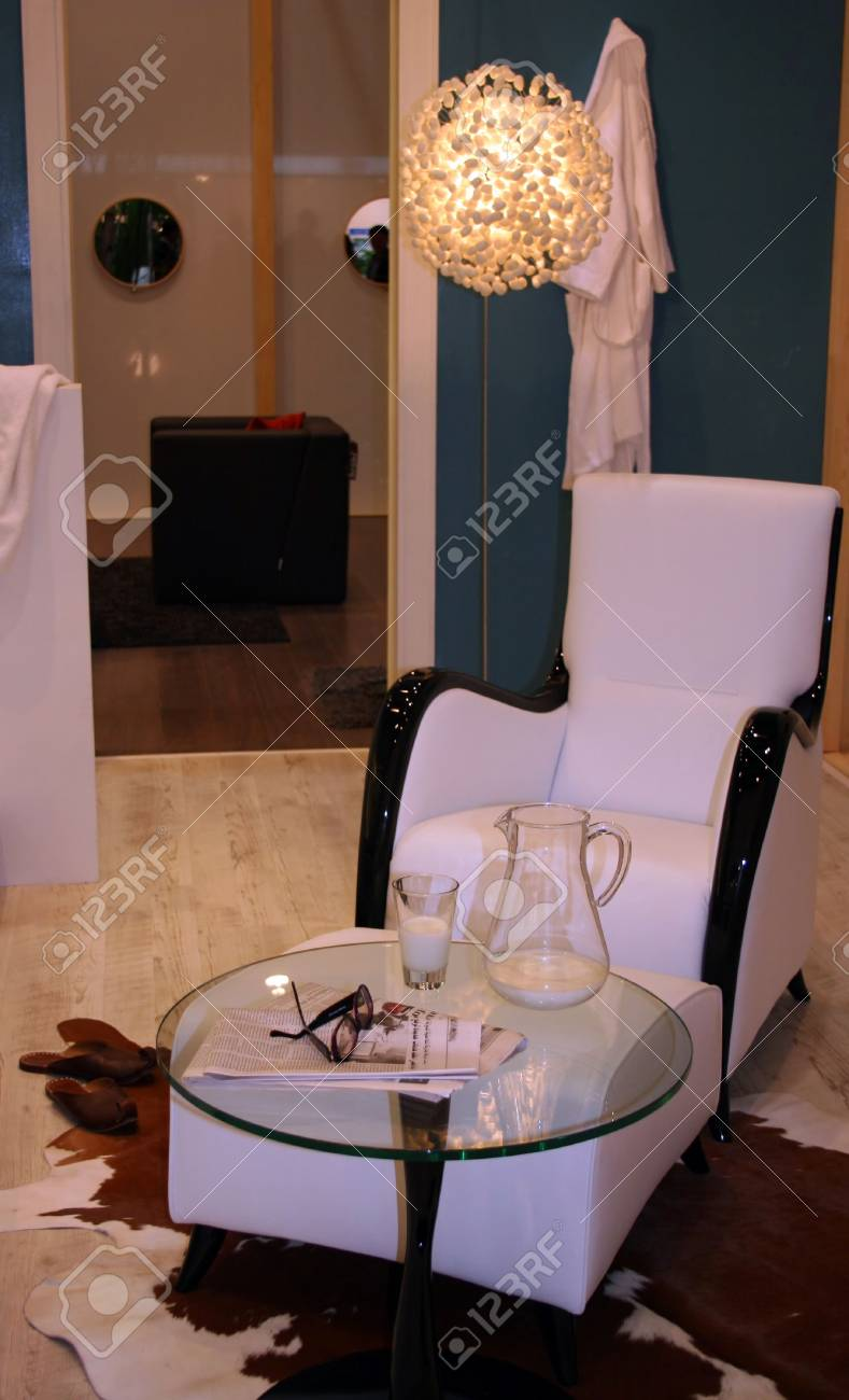 Chair with a table Stock Photo - 328199