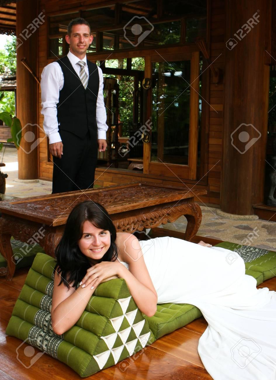 Bride and groom Stock Photo - 3622339