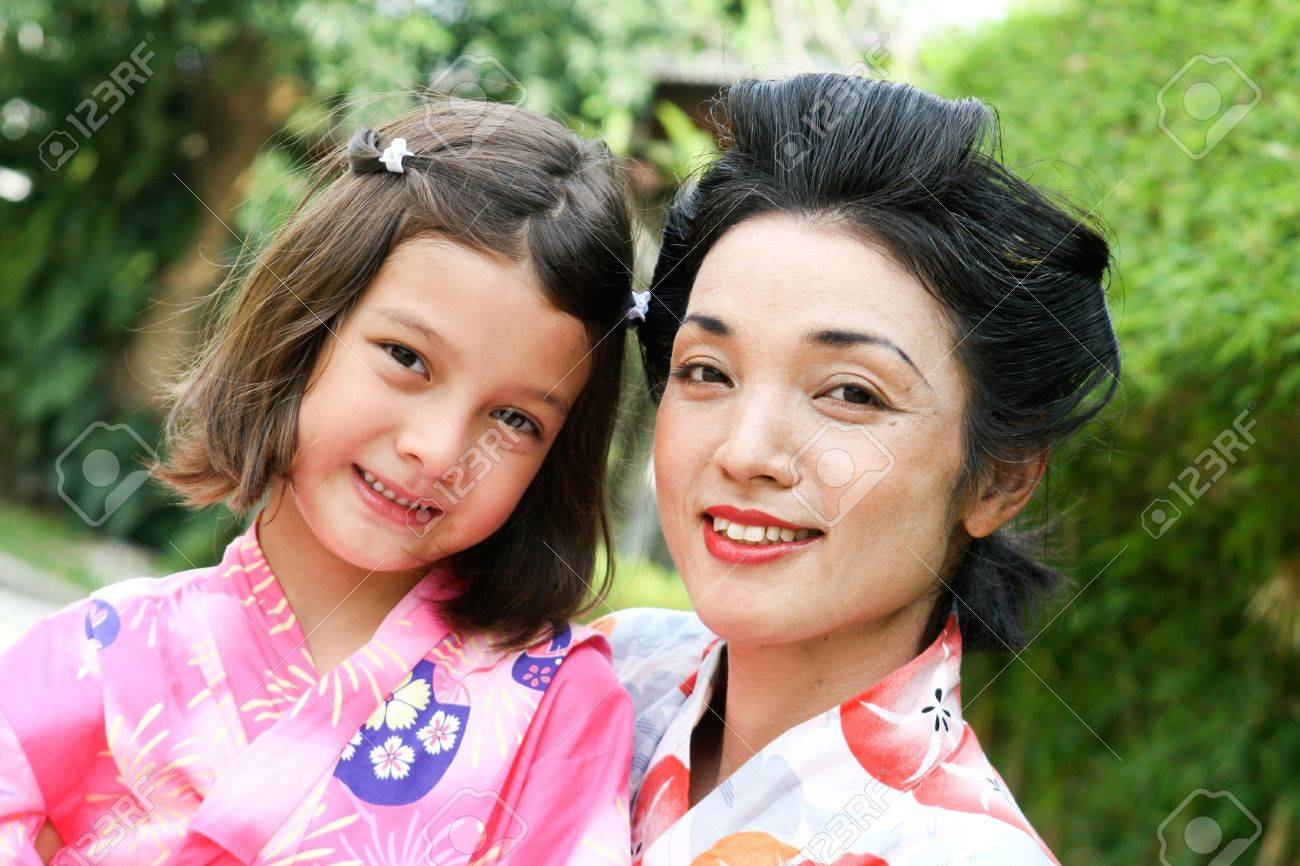 Japanese Beatiful And Family