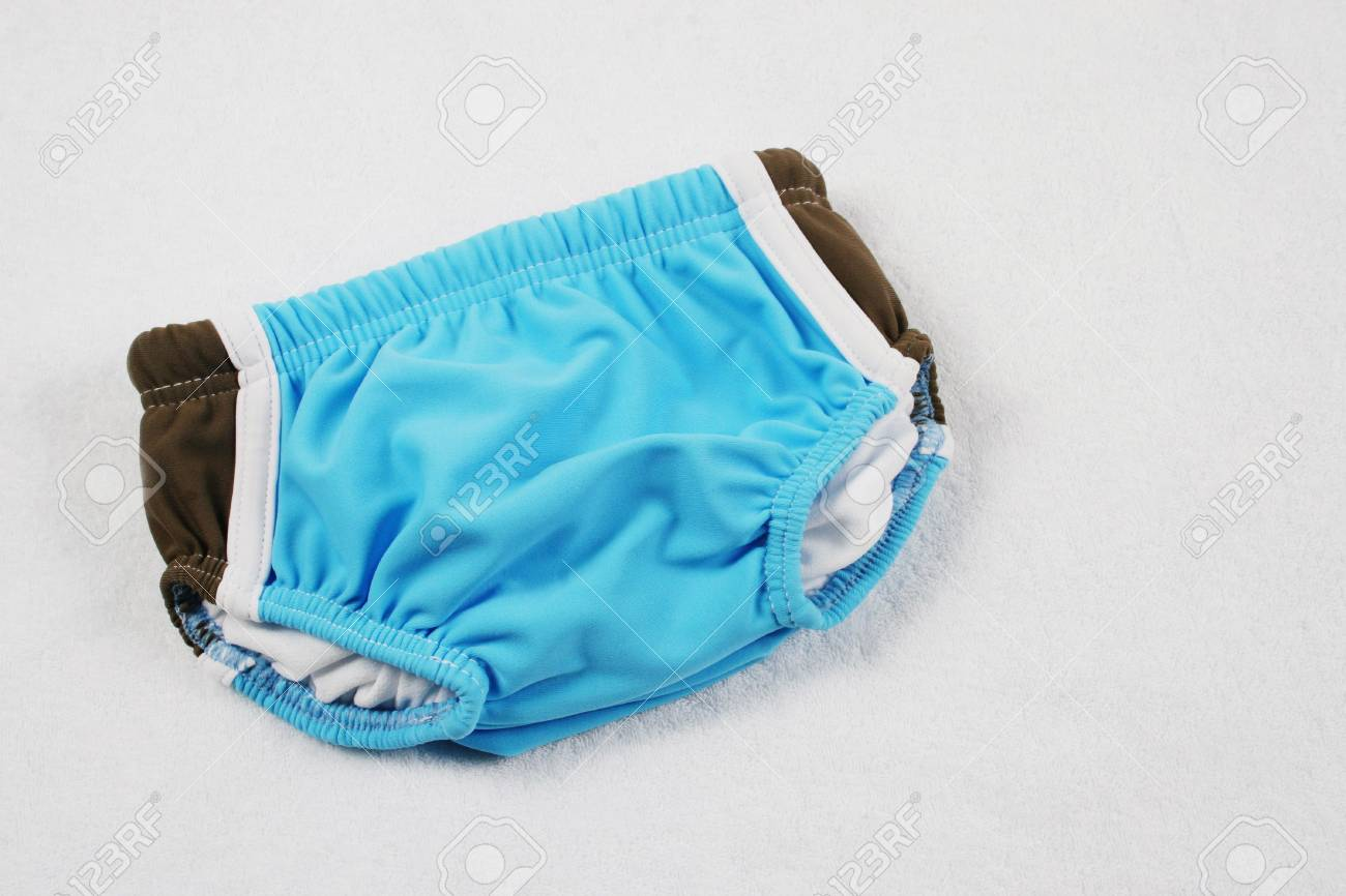 Baby's first swimsuit. Stock Photo - 4688846