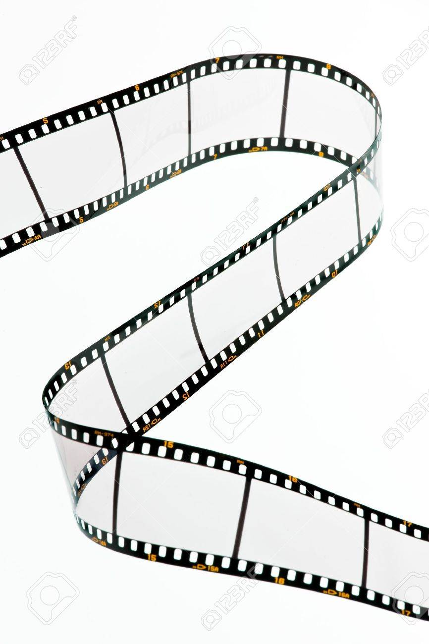 Film strips for APGVis with text space. Blank Dia 35mm film. Stock Photo - 7991501