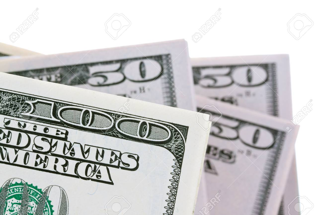 Image for photo wealth. Many American dollar bills Stock Photo - 7993717