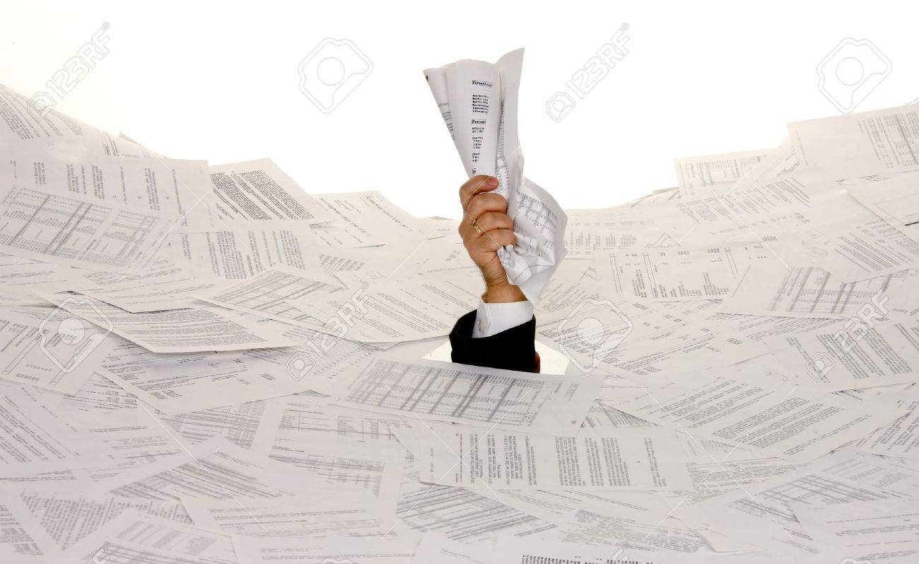 stress paper essays stress in the office red tape and paper filing stock photo stress in the office red