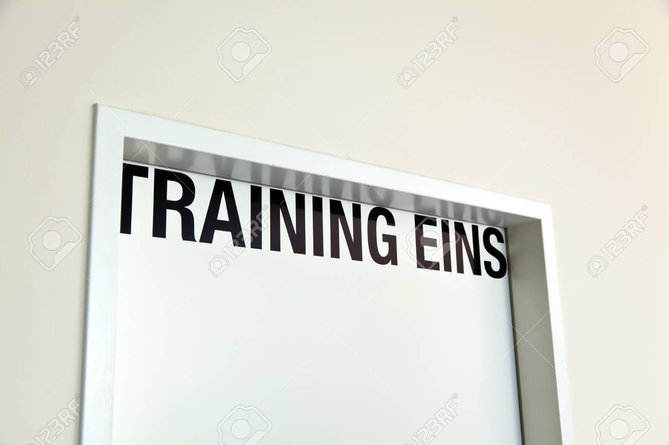 a room for training and seminars in a seminar hotel Stock Photo - 11153920