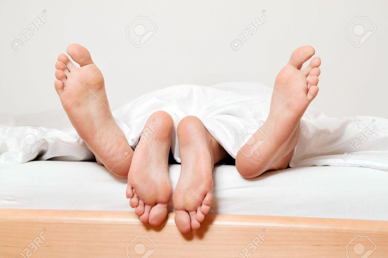 Beim sex füße Füße beim