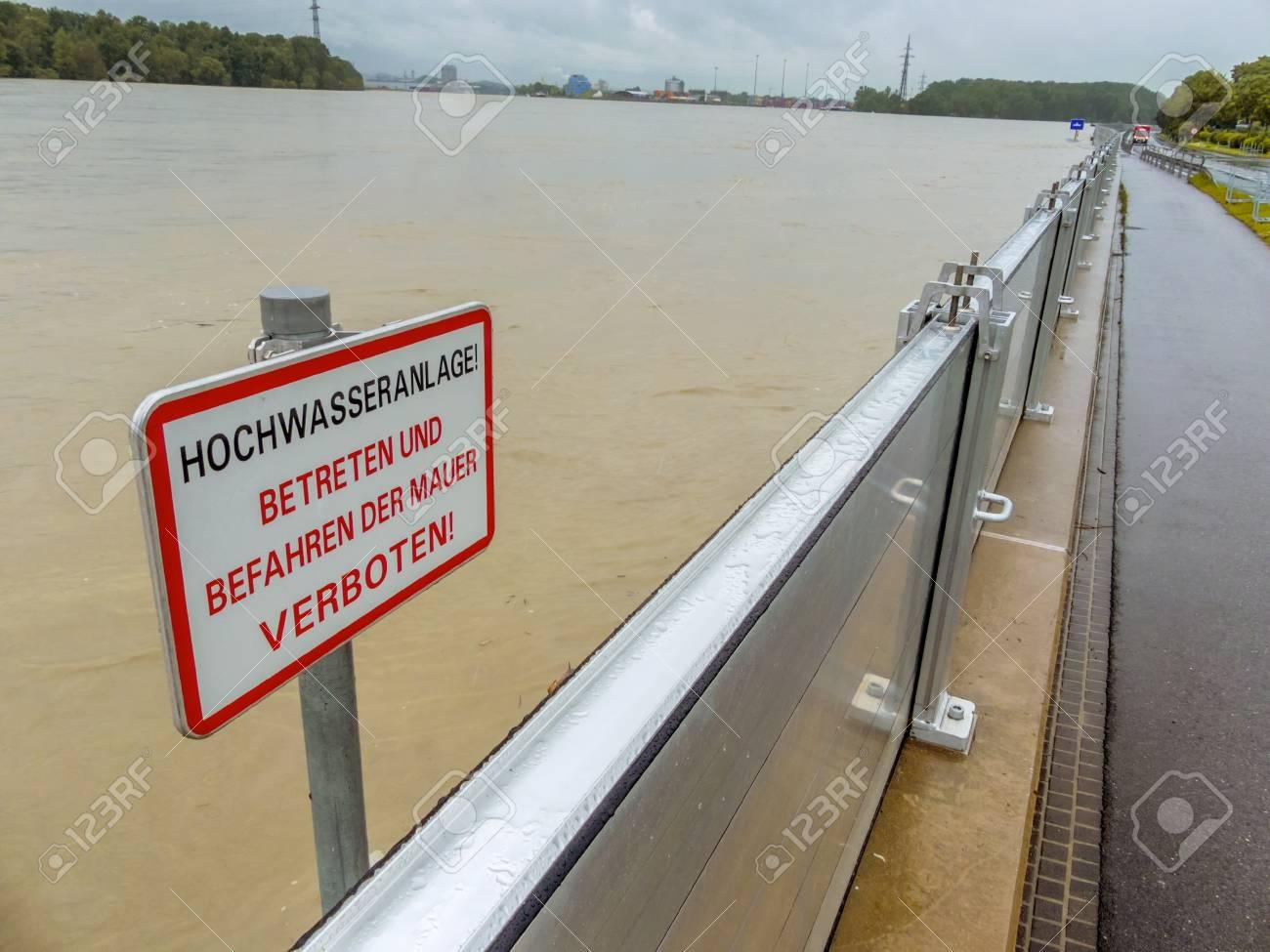 flood protection embankment Stock Photo - 20771270