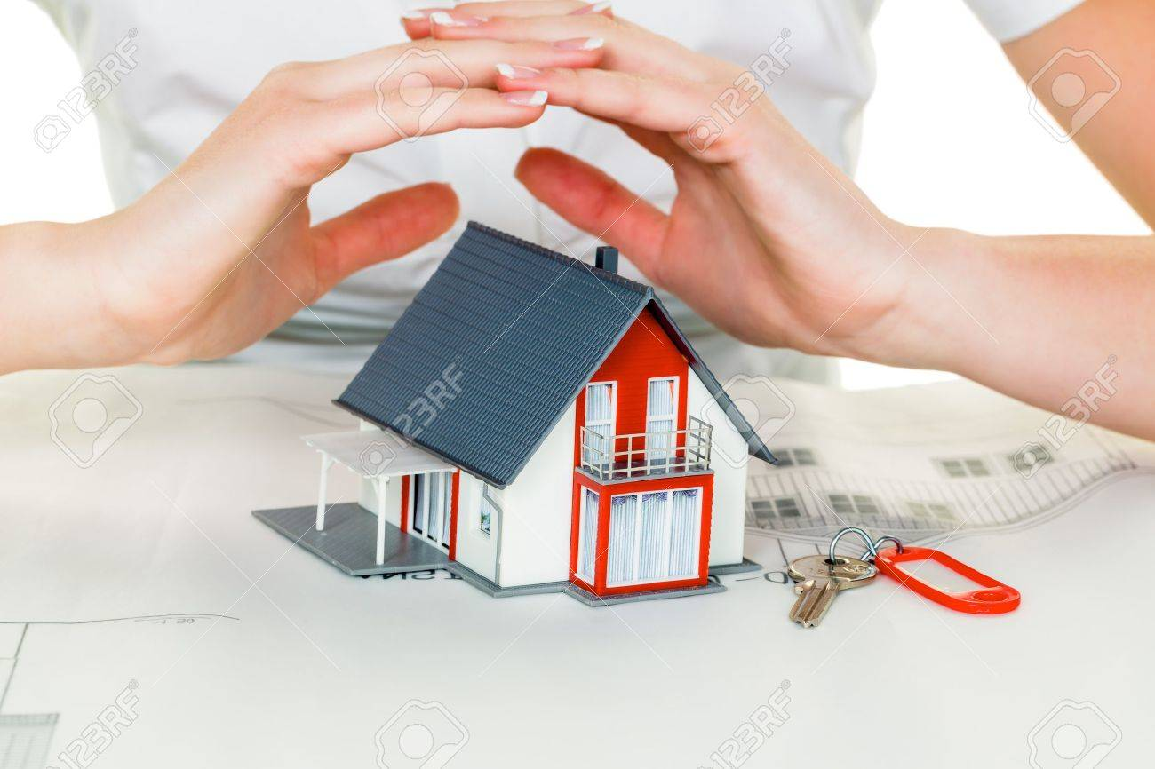 a woman protects your house and home - 20771348