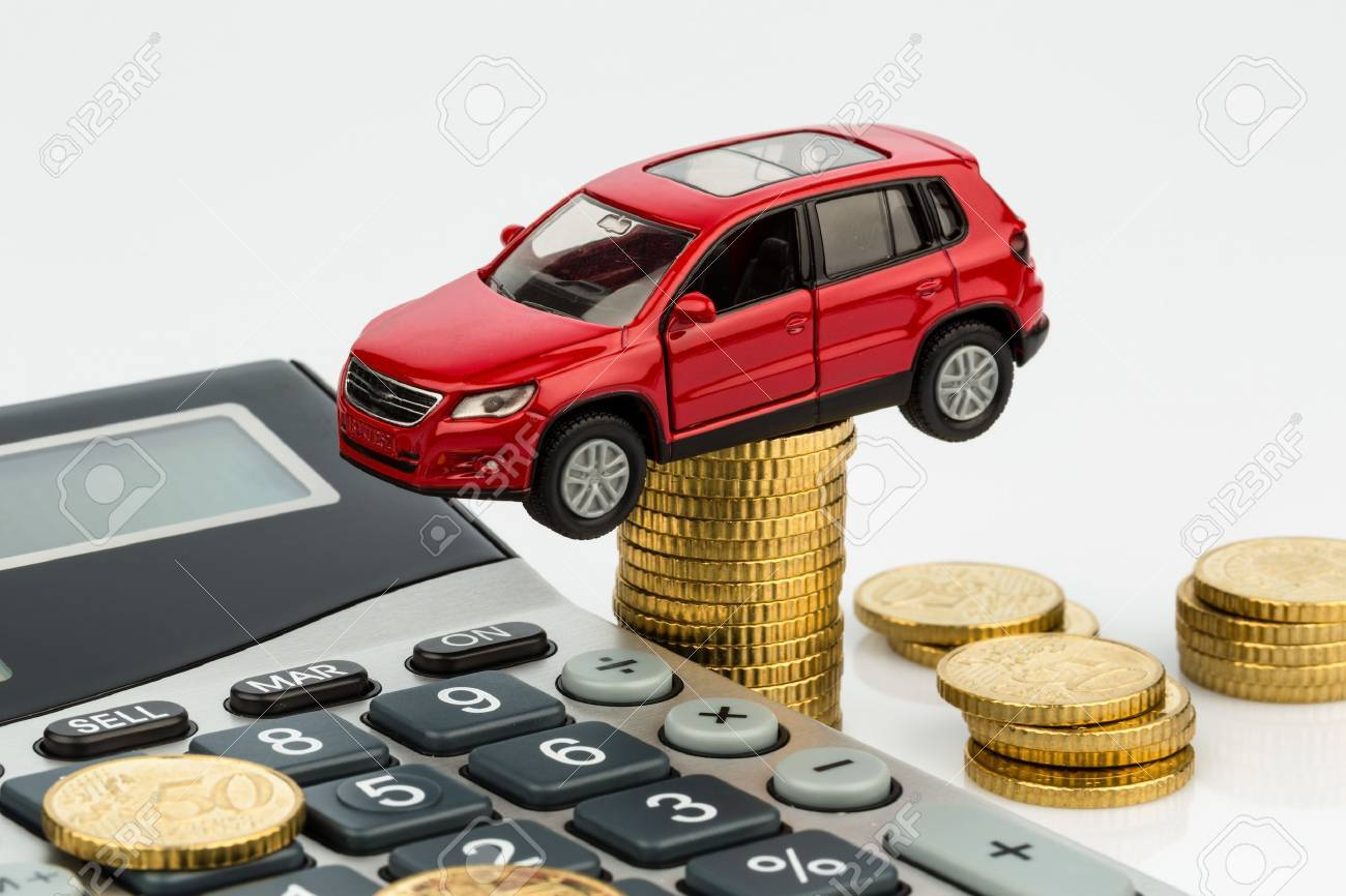 Car And Calculator Rising Costs For Buying A Car Leasing Service