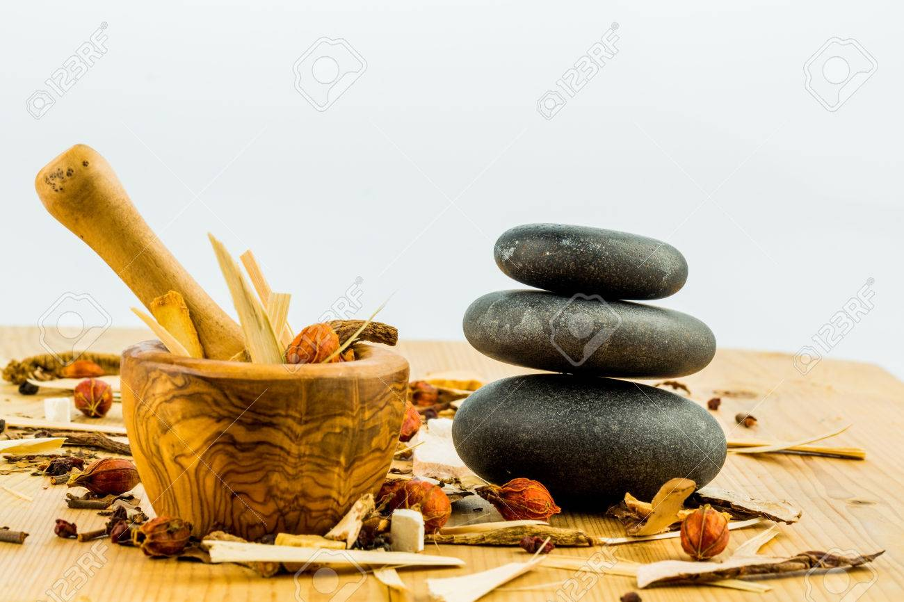 ingredients for a cup of tea in traditional chinese medicine. cure of diseases by alternative methods. - 34641572