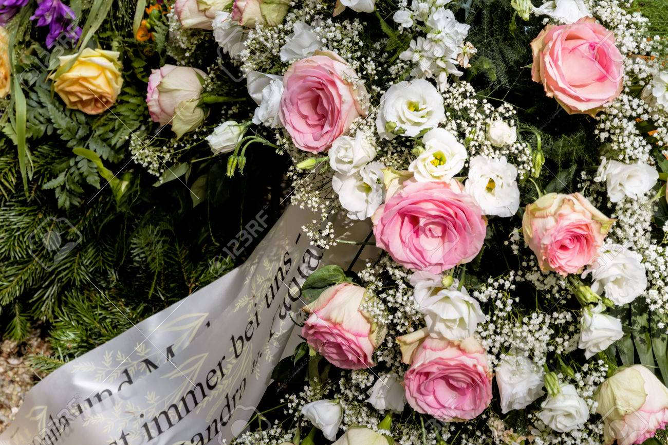Funeral flowers stock photos royalty free funeral flowers images welker grave jewelry death remembering mourning and transience izmirmasajfo