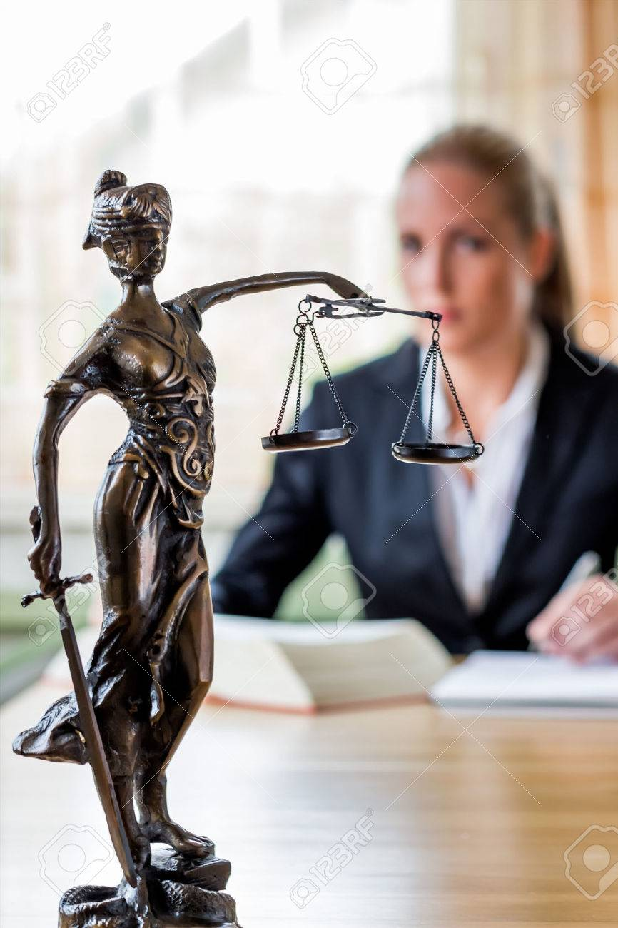 businesswoman sitting in an office. photo icon for managers, independence or lawyer. Stock Photo - 38484276