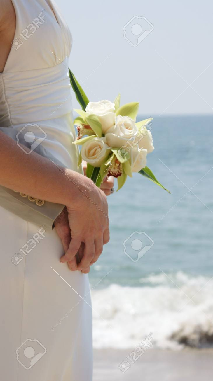 beach bride Stock Photo - 7443643