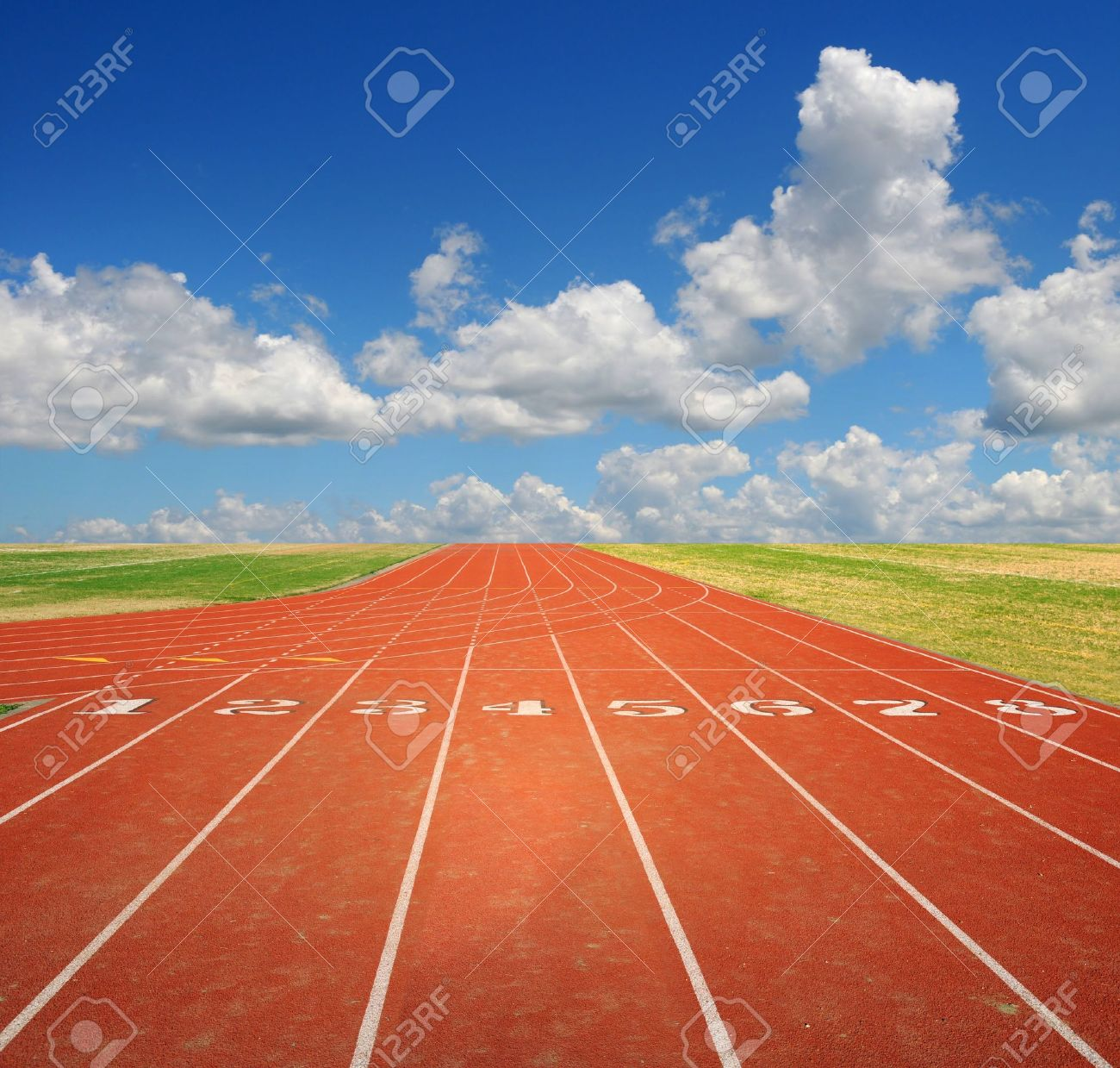 track and field : Running
