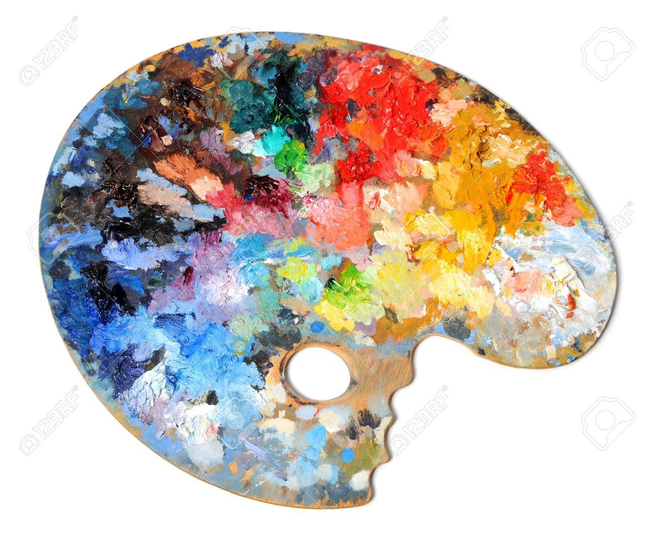 paint palette : Artist palette