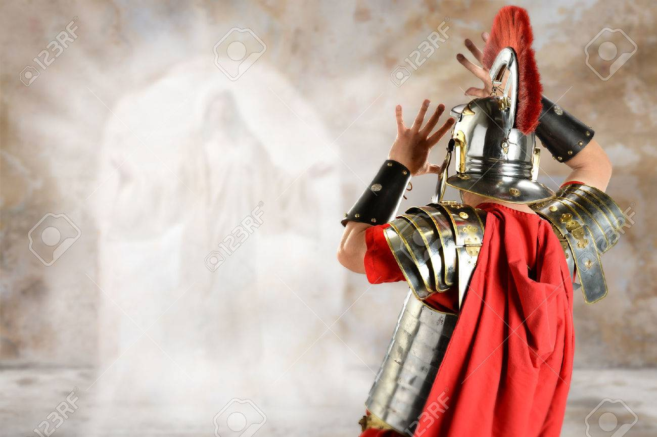 Roman soldier surprised by angel at Jesus tomb - 31383907