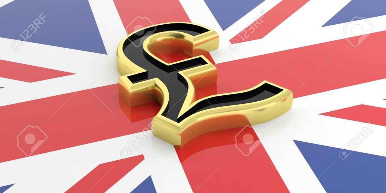 3d rendering golden british pound symbol on a gb flag stock photo 3d rendering golden british pound symbol on a gb flag stock photo 60778145 biocorpaavc Choice Image
