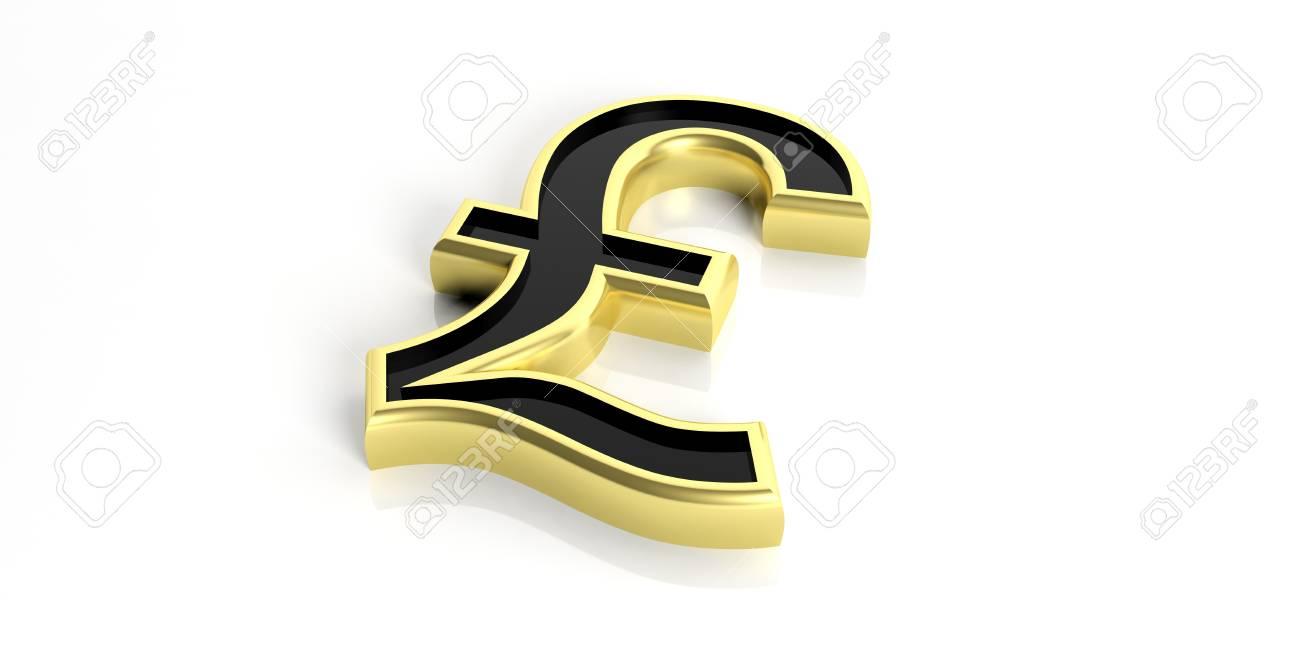 3d rendering golden british pound symbol on white background stock 3d rendering golden british pound symbol on white background stock photo 60778154 biocorpaavc Choice Image