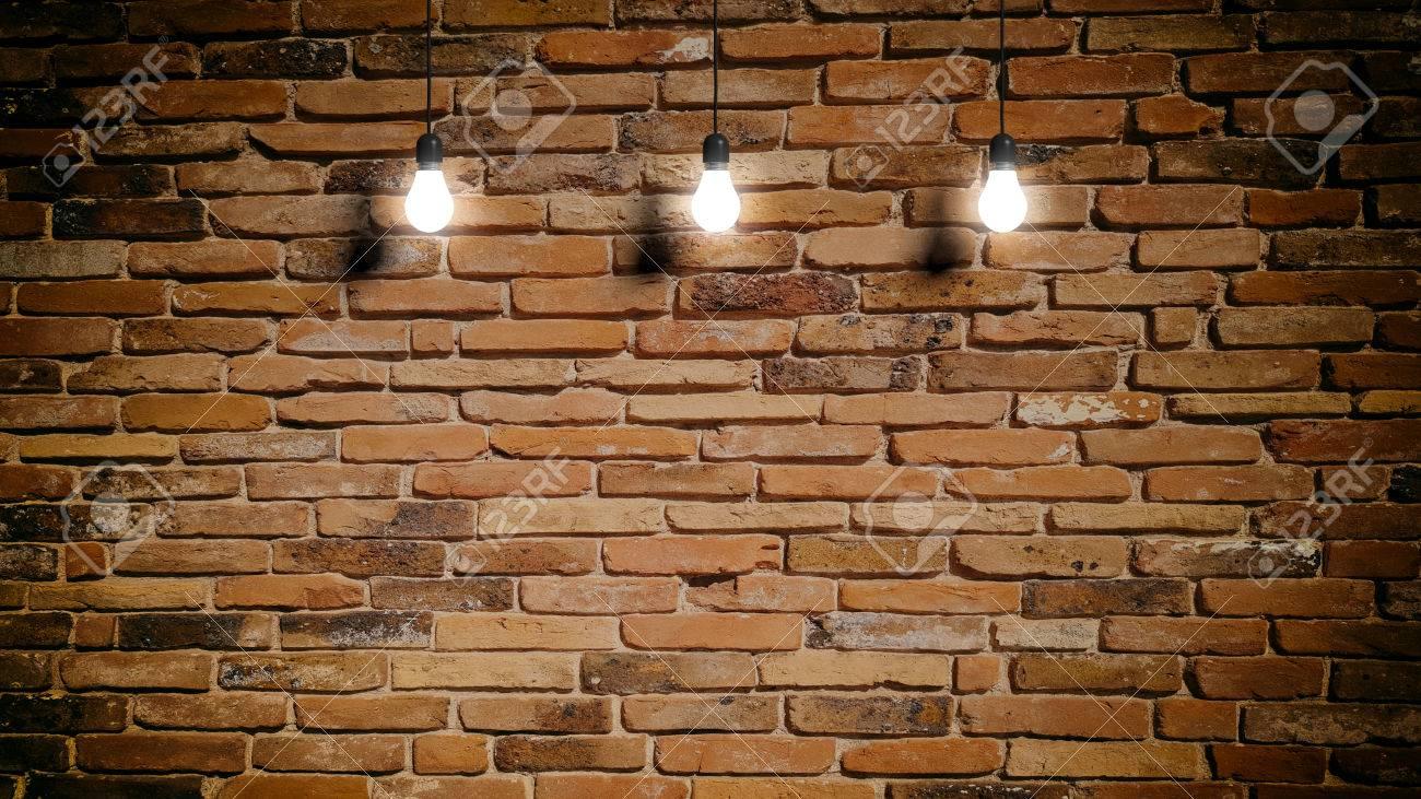 Lampen En Licht : 3d rendering lampen licht hängen auf mauer hintergrund lizenzfreie