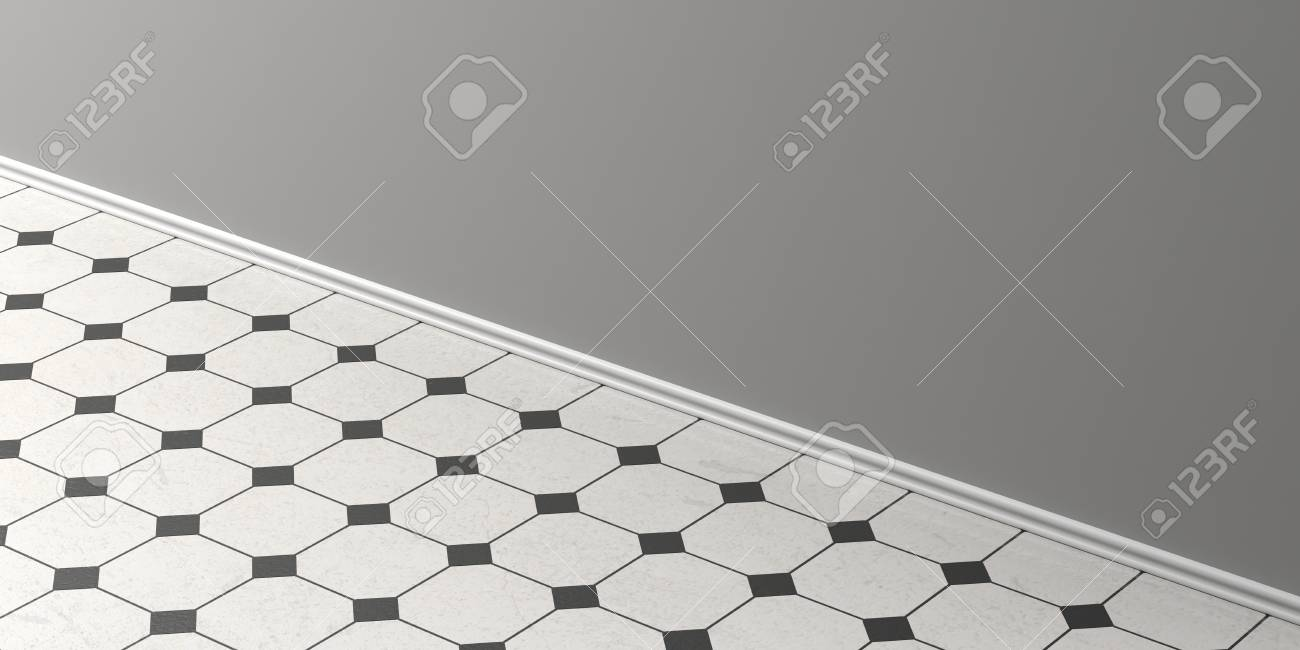 Surprising ceramic tiles details images simple design home vintage white ceramic tiles floor with black details grey wall dailygadgetfo Choice Image
