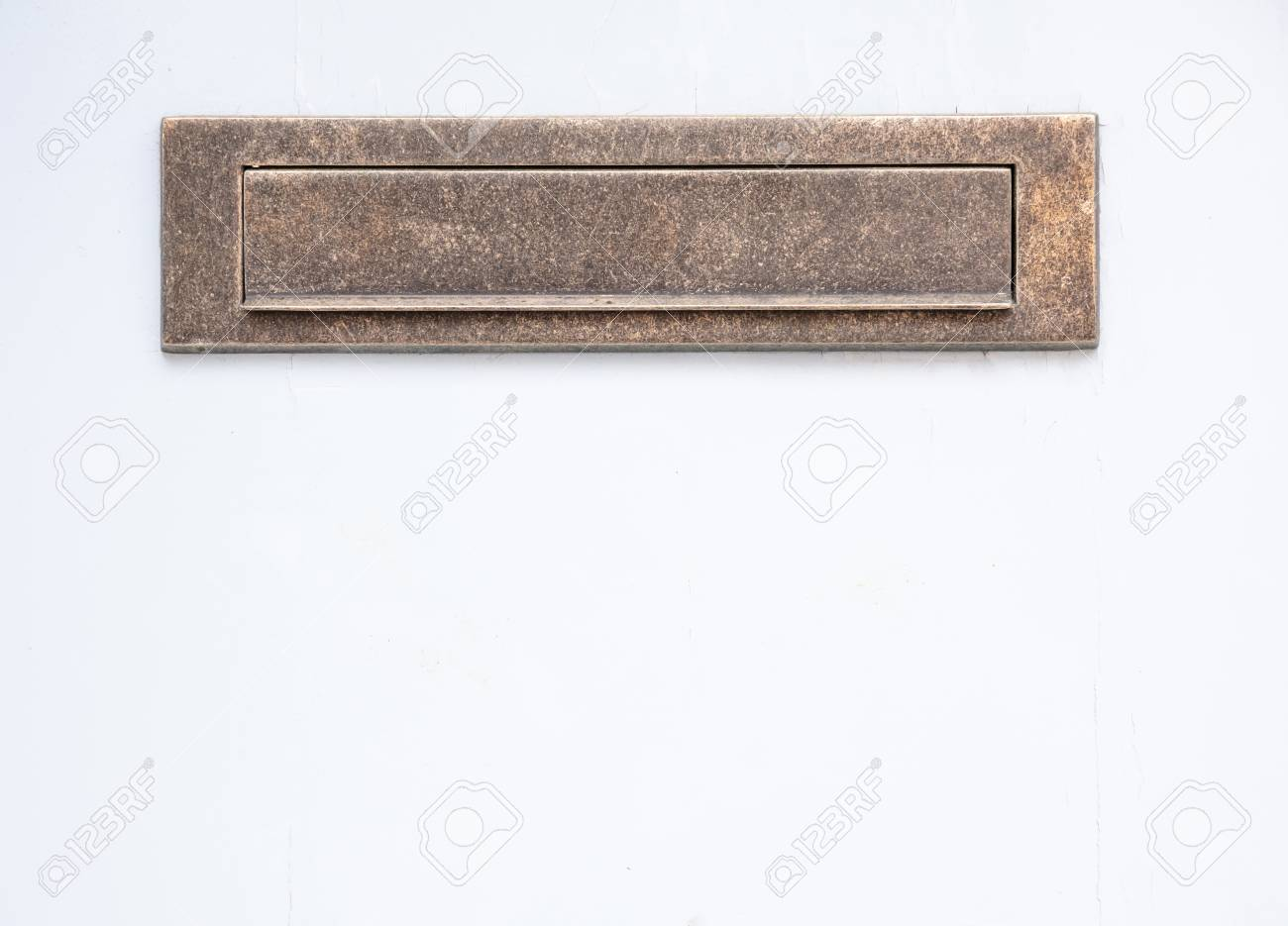 Picture of: Old Bronze Mailbox Brass Vintage Mail Letter Box On White Color Stock Photo Picture And Royalty Free Image Image 117566419