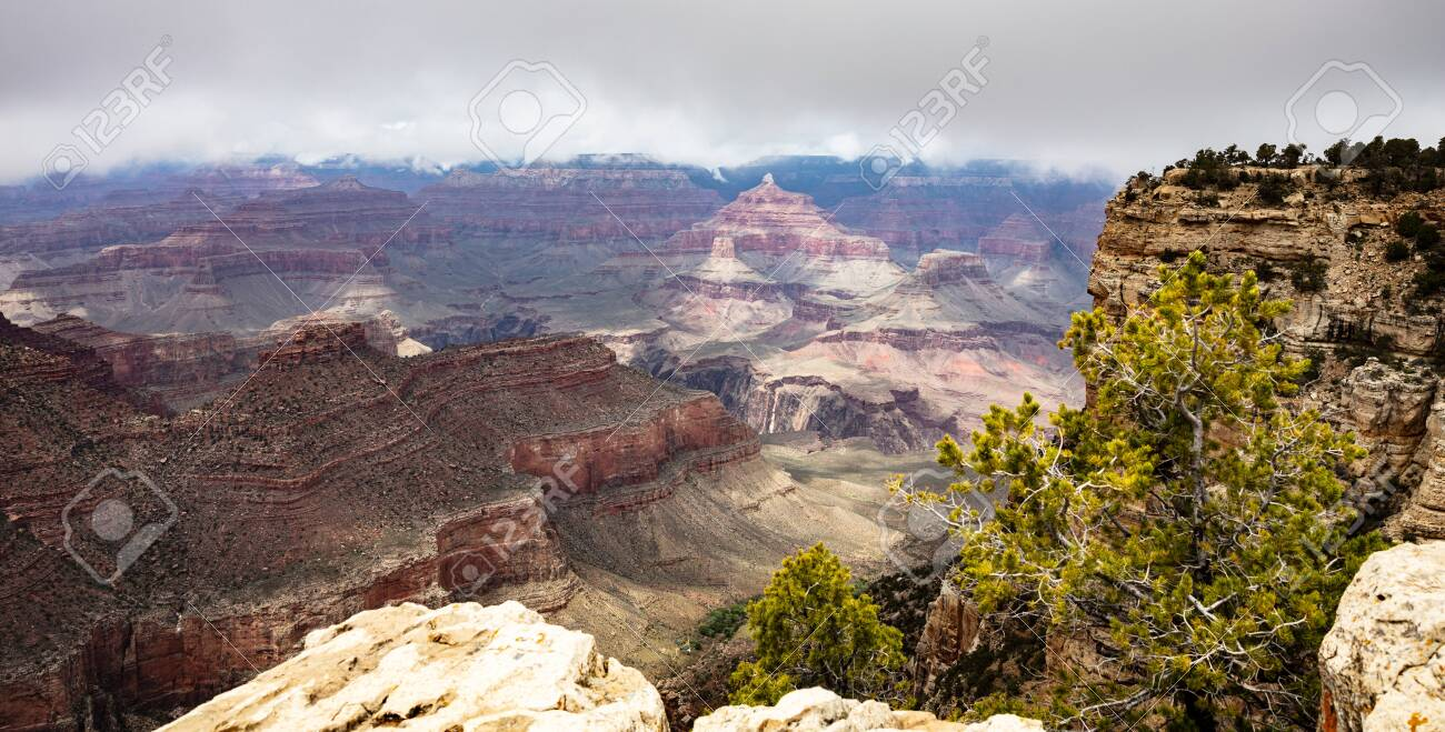 Grand Canyon National Park Arizona United States Panoramic