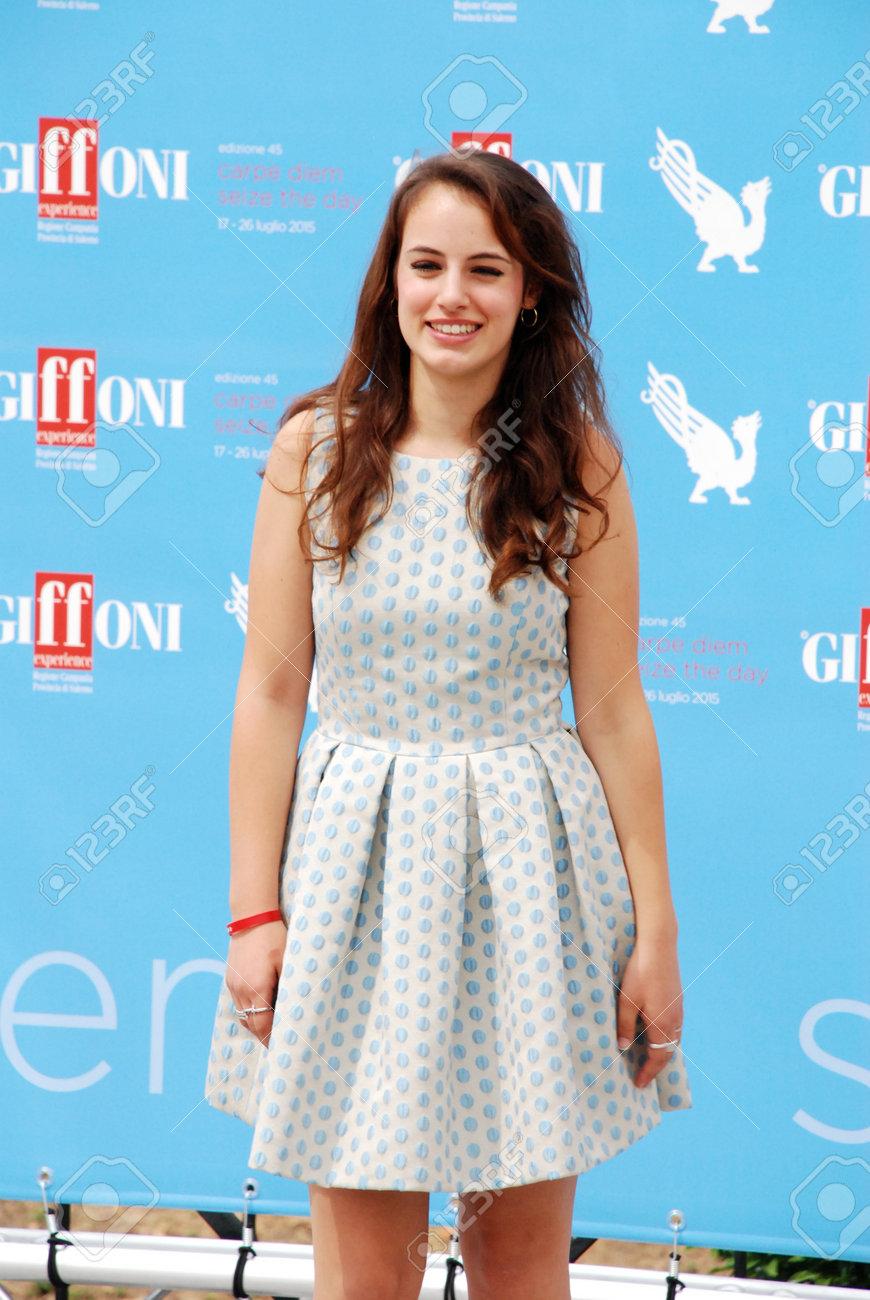 Angela Curri giffoni valle piana, sa, italy - july 26, 2015 : angela curri..