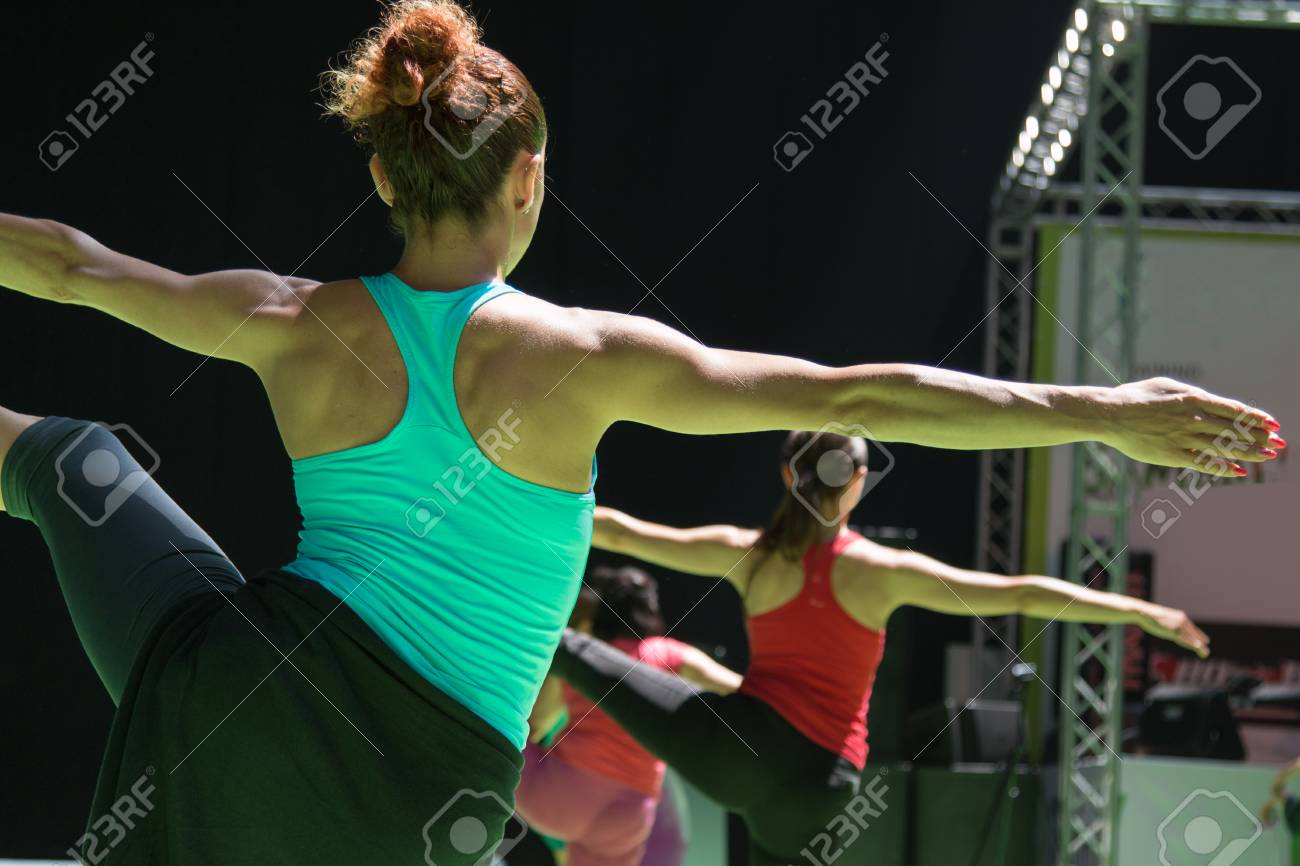 Fit Young Women In Sport Clothes Doing Yoga Pose Fitness Workout Stock Photo Picture And Royalty Free Image Image 54896169 Younger women look at your bangin body and fresh face and are shocked by your age. https www 123rf com photo 54896169 fit young women in sport clothes doing yoga pose fitness workout html