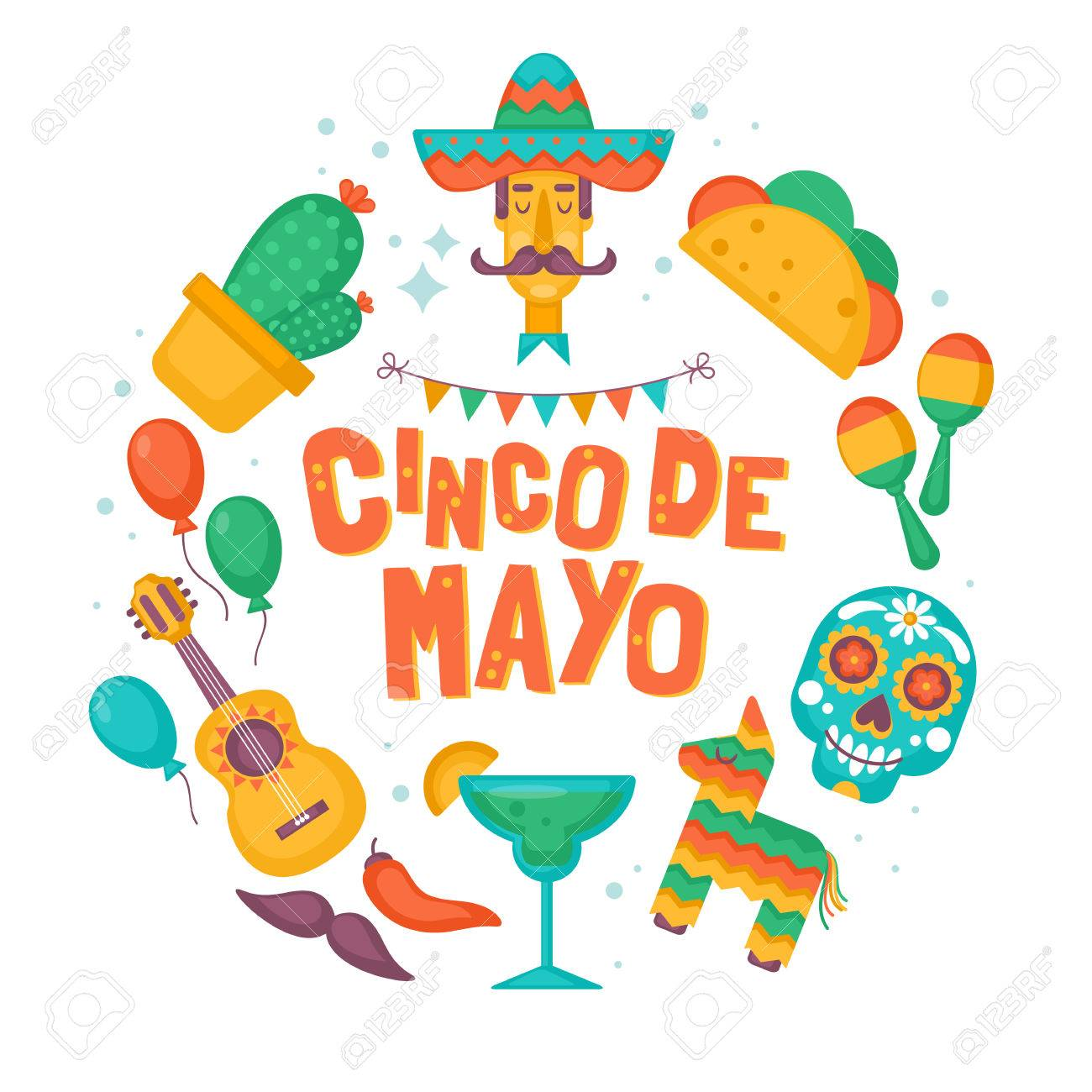 Cinco de mayo mexican holiday banner poster party invitation cinco de mayo mexican holiday banner poster party invitation and greeting card design stock stopboris Image collections