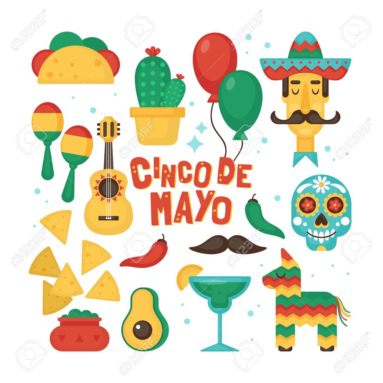 Cinco de mayo mexican holiday banner poster party invitation cinco de mayo mexican holiday banner poster party invitation and greeting card design set m4hsunfo
