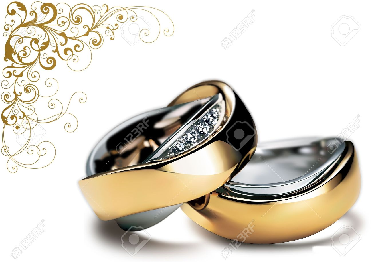 for shining nice rings design stock photo your wedding