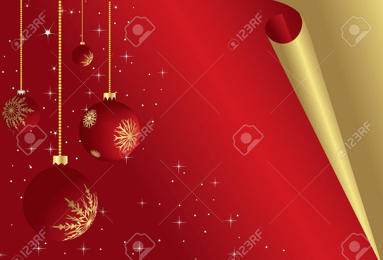 Nice christmas ornaments - Here You Can See Nice Christmas Ornaments Stock Photo 6371524