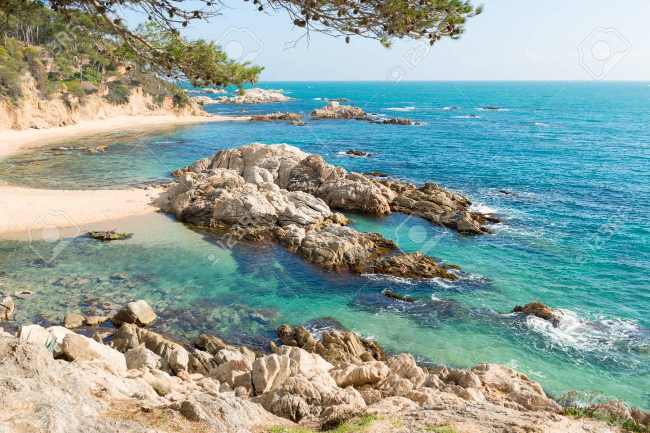 Landscapes And Details Of The Coast Brave Costa Brava In Girona